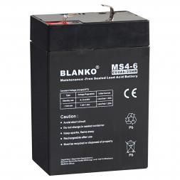 Simbatec Blanko Lead Accumulator 6V 4Ah