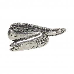 Small pewter pins (eel)