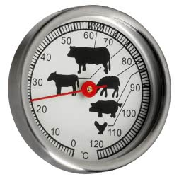 Smoker Oven and Meat Thermometer