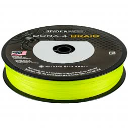 Spiderwire Fishing Line Dura 4 (Yellow, 300 m)