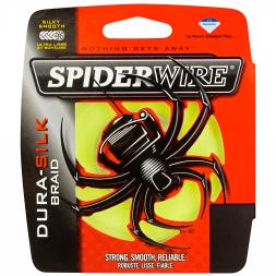 Spiderwire Fishing Line Dura Silk (Yellow)