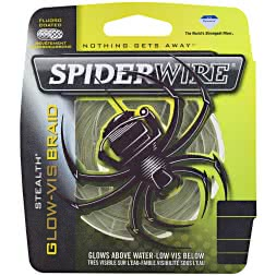 Spiderwire Fishing Line Stealth Glow-Vis Braid (Glow-Vis)