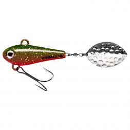 SpinMad Lead Head Spinner Originals (Sheriff, 14 g)