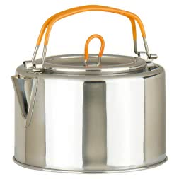 Stainless steel kettle 1L