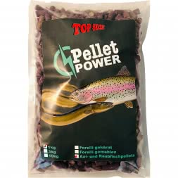 Top Secret predatory fish pellets/Forelli (eel and predatory fish pellets)