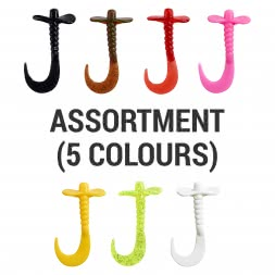 Trout Attack Twister Prop & Twist Assortment (5 colours)