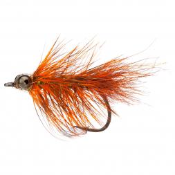 Unique Flies Seatrout Flies 2 (Orange Frede)