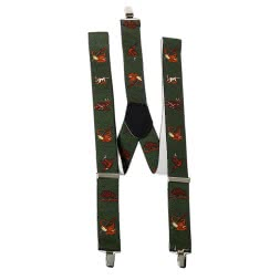 Unisex Braces with Hunting motif (The Hunt)