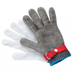 Unisex Cut Protection Glove Stainless Steel