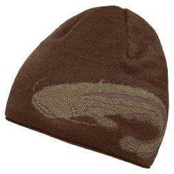 Unisex Knitted Cap (with catfish motif)