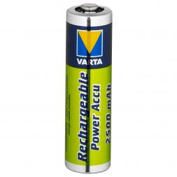 Varta Rechargeable Power Pack NiMh Mignon HR6/AA (1,2 Volt, 2500 MAh)