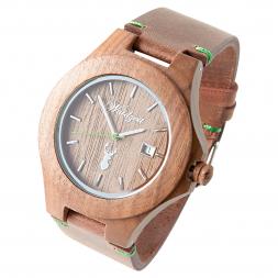 Waidzeit Gams PREMIUM Men's Watch with Leather Bracelet