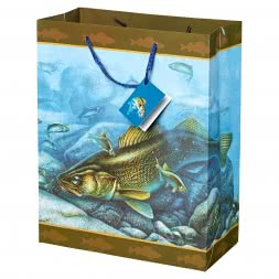 WALLEYE Design Gift Bag