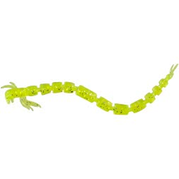 Westin gummy worms Bloodteez Worm (Chartreuseflake)