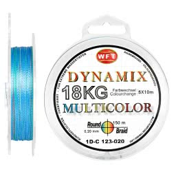 WFT Fishing Line Dynamix Round Braid (multicolor)