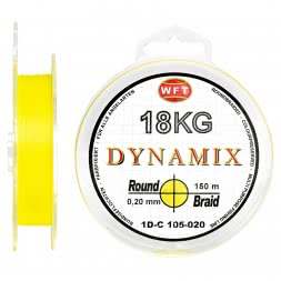 WFT Fishing Line Dynamix Round Braid (yellow)