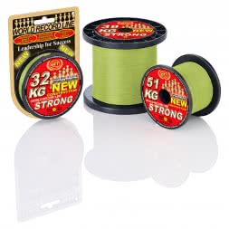 WFT Fishing Line KG Strong (chartreuse)