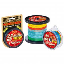WFT Fishing Line KG Strong (multi-colour)