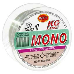 WFT Fishing Line Mono (low vis green)