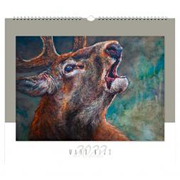 WILD UND HUND Edition: Ward Nijs Calendar 2022