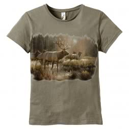 Women's T-Shirt Red Deer