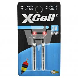 XCell lithium battery electronics CR435