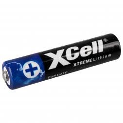 XCell XTREME Lithium Batteries 1.5 V (AAA)
