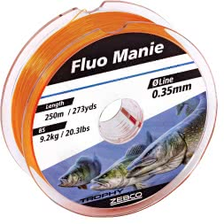 Zebco Trophy Fishing Line (Fluo Manie)