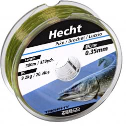 Zebco Trophy fishing line (pike)