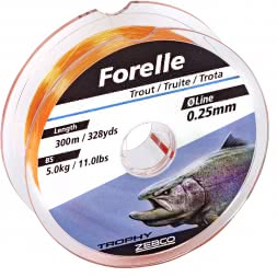 Zebco Trophy fishing line (trout)
