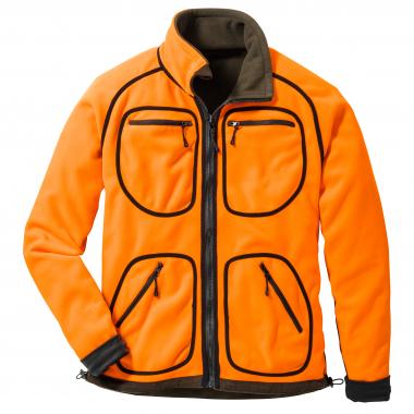 il Lago Prestige Men's Fleece Reversible Jacket JORIS