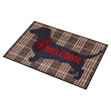 Salonloewe Doormat Welcome Dog