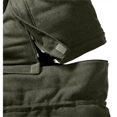 il Lago Prestige Unisex Whisper loden Hide Bag TREEFROG
