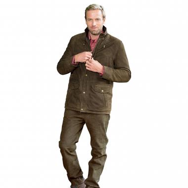 il Lago Prestige Men's Leather Jacket
