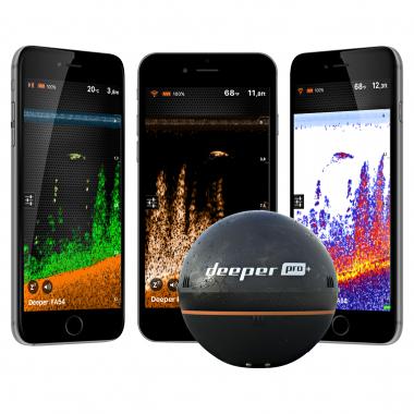 Deeper Fishfinder Smart Sonar Pro + GPS